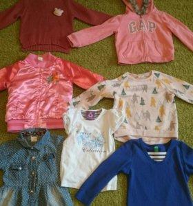 Одежда на девочку 2-3,5