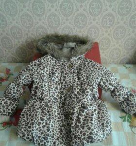 Курточка димесезонная для девочки.