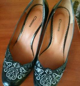 Туфли кожа натуральная