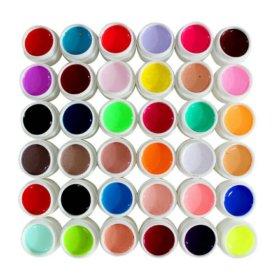 Гели цветные 36 штук