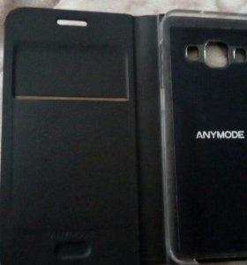 Samsung Galaxy A3 2015, кожаный чехол