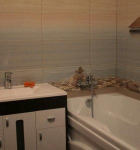 Отделка сан.узлов и ванных комнат.