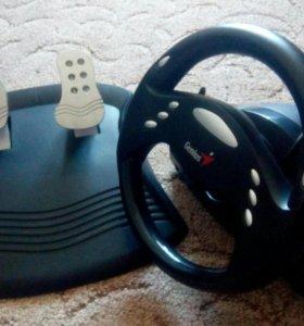 Руль и педали Genius Speed Wheel 3
