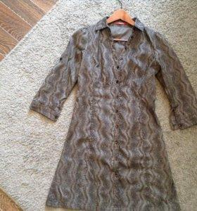 Платье-рубашка 36 раз.(S)