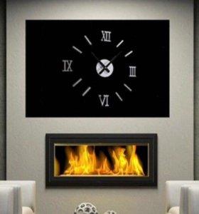 Настенные часы 3d Акриловое зеркало