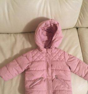 Куртка Zara демисезонная 80 раз