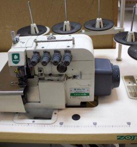 Стачивающе-обметочная швейная машина