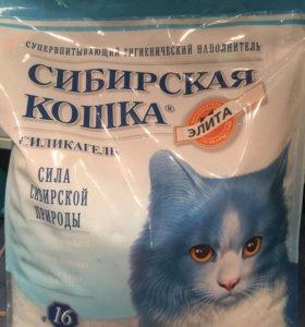 Наполнитель для кошачьего туалета. Селикагель