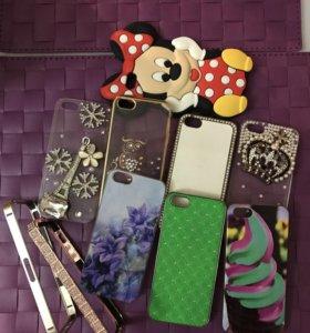 Чехлы и бампера на iPhone5S