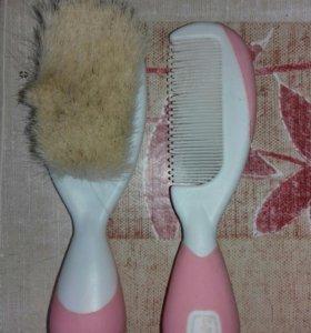 Расчёска и щётка для ребёнка CHICCO