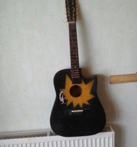 12струнная гитара