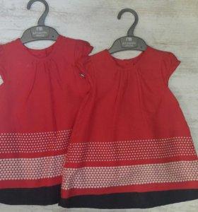 Платья mothercare для двойни