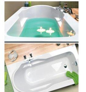 Ванна акриловая новая