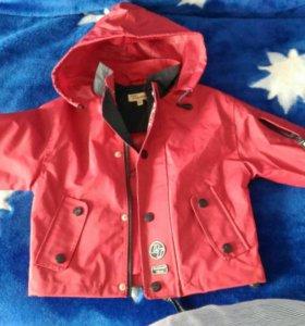 Куртка дождевик (прорезиненная)