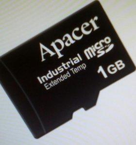 MicroSD карточка1GB