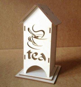 Чайный домик с чашкой