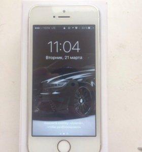 iPhone 5s silver (в идеале)