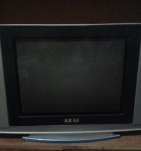 Телевизор акай на запчасти згорела плата