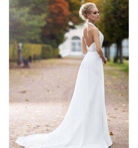 Свадебное платье новое с бирками 44 р-р