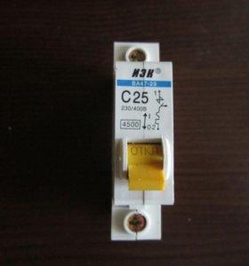 Автоматический выключатель С 25