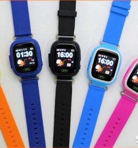 Детские часы-телефон Smart Baby Watch Q90