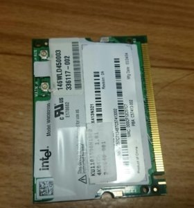 Pci wifi Intel wm3b2100
