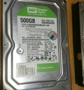 Wd hdd 500gb sata