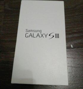 Коробка от Samsung Galaxy S 3