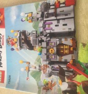 Большой замок Лего Энгри берс короля свиней.
