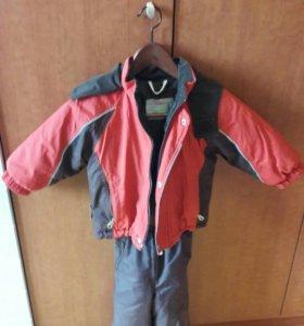 Зимняя куртка и штаны полукомбинезон Remu
