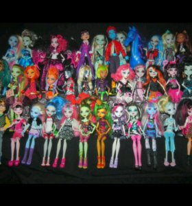 Монстер Хай куклы Monster High без коробок оригина