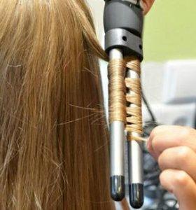 Плойка для волос новая