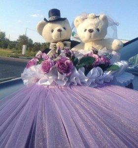 Украшения для свадебных автомобилей