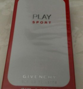 "Givenchy ""Play Sport"" 100 ml (мужские)"