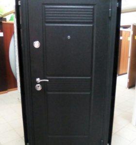 Входная теплая дверь смонтажом Византия