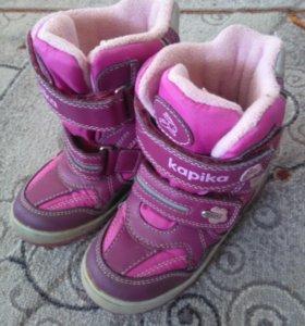 Обувь для девочки разная