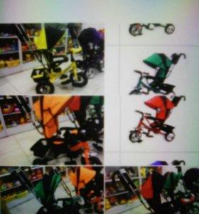 Трехколесные велосипеды Супер Трайк