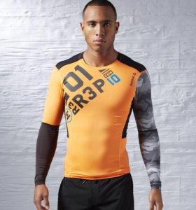 Компрессионная футболка с длинным рукавом Reebok