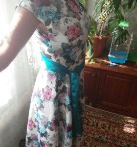 Платье (в пол).