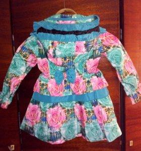 Куртка детская весенняя