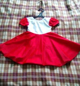 Платье для танцев- гимнастики