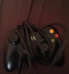 Геймпад от Xbox 360 проводной (подойдёт к пк)