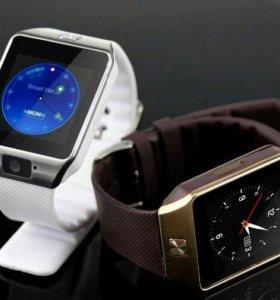 Часы-смартфон Smart Watch DZ09