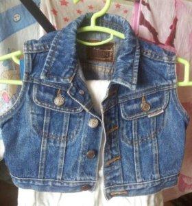 Жилетка джинсовая детская Frisco Kid