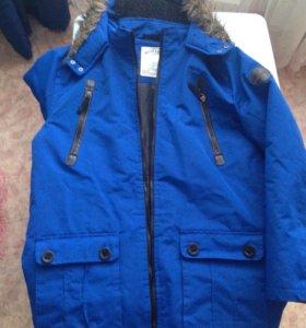 Зимняя куртка на мальчика подростка