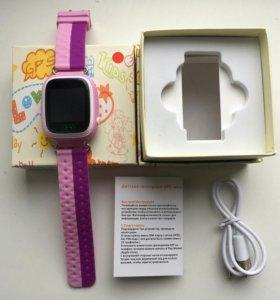 Smart baby watch Q80 детские умные часы