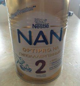 Смесь nan 2 гипоаллергенная