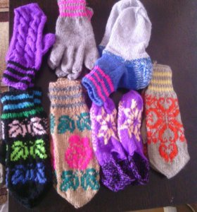 Носки,варежки, перчатки,тапочки