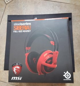 Новые наушники SteelSeries Siberia V2