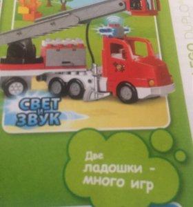 Лего дупло   Оригинал пожарная машина